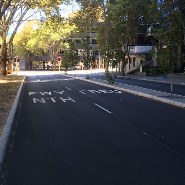 Perth Western Australia city mounts bay road