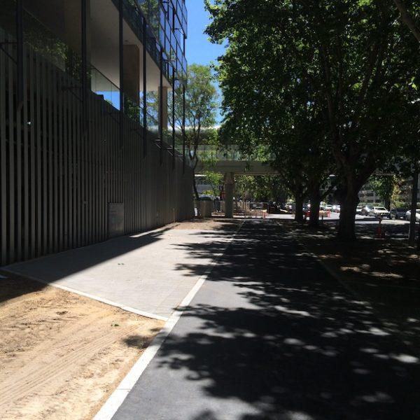 Perth city Western Australia pathway