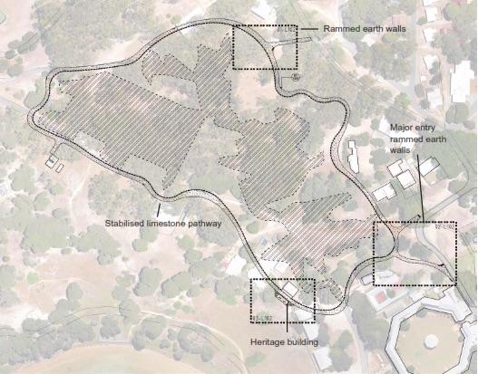 Rottnest island burial site pathway