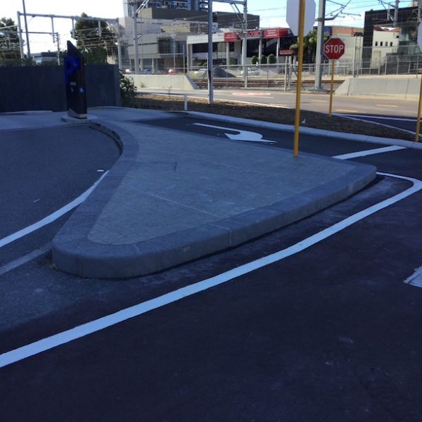 new road at wellington st in Perth city